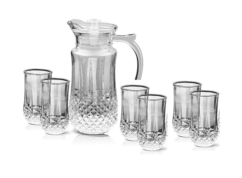 Treo by Milton Desire Lemon Set (1 Jug, 1470 ml and 6 Glasses, 275 ml) - My Dream Kitchens