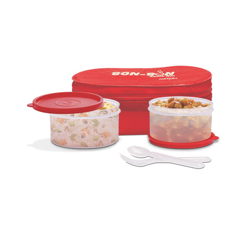 Milton Bon Bon Lunch Box, Red - My Dream Kitchens