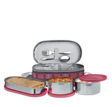 Milton Corporate Lunch Box  Stainless Steel Containers Set of 3, - My Dream Kitchens