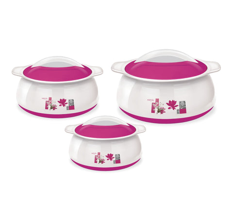 Milton Delish Jr Inner Steel Insulated Casserole Gift Set of 3 - My Dream Kitchens