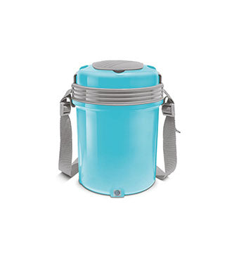Milton Electron Stainless Steel Tiffin Box 4 Container  ,360 ml , Electric Lunch Box - My Dream Kitchens