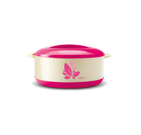 Milton Orchid 2000 ml Inner Steel Insulated Casserole - My Dream Kitchens