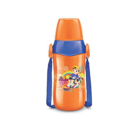 Milton Steel Whizz 600 Insulated Inner Steel Hot or Cold Water Bottle for Kids, 600 ml - My Dream Kitchens