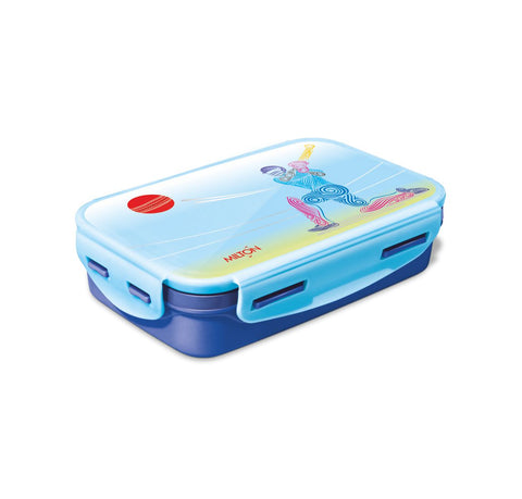 Milton Steely Big Tiffin 2 Containers Insulated Inner Steel Container Lunch Box (525 ml) - My Dream Kitchens