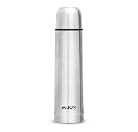 Milton Thermosteel Flip Lid Hot and Cold Flask, 1000 ml - My Dream Kitchens