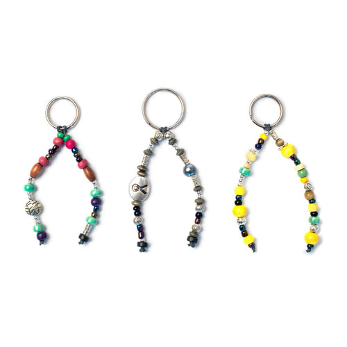 Kidz Positive Beading Project Cindy's Beaded Keyrings