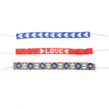 Load image into Gallery viewer, Kidz Positive Beading Project Beaded Friendship Bracelet