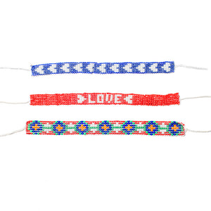 Kidz Positive Beading Project Beaded Friendship Bracelet