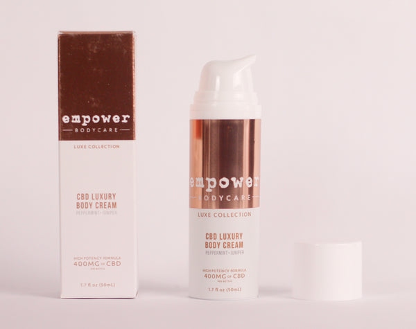 Empower Luxe Body Cream - Peppermint and Juniper