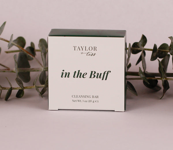 'in the Buff' cleansing bar
