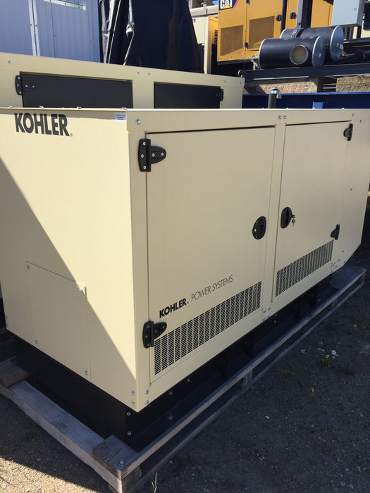 New Kohler Generator Model 45ERES nat/gas, 41KW, 120/240V