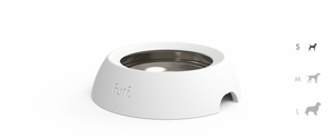 spill resistant pet bowl