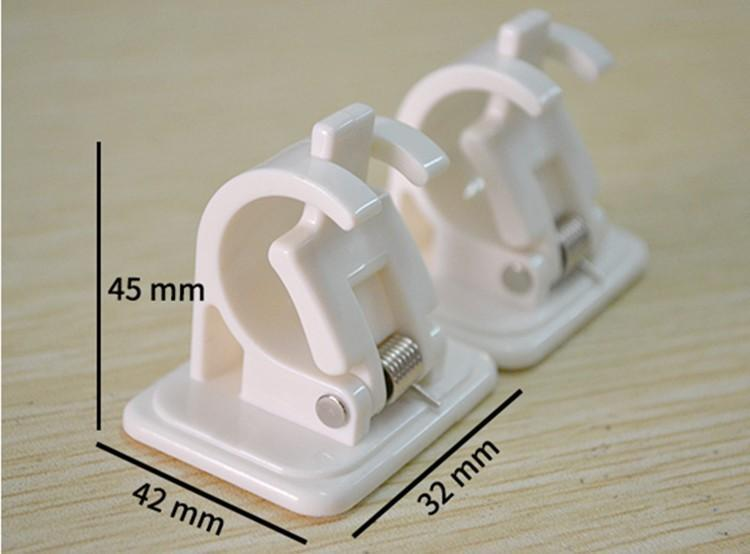 Adjustable Curtain Rod Bracket Holders (2pcs) 88mallonline