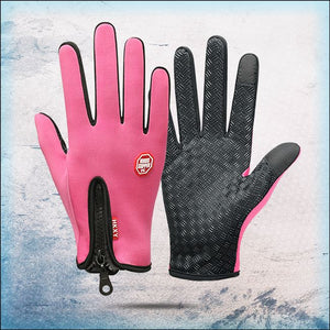 All Weather Thermal Touchscreen Gloves trillionwish Pink S