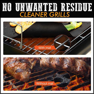 Anti-Stick Barbecue Mat (2pcs) Kitchen 88mallonline