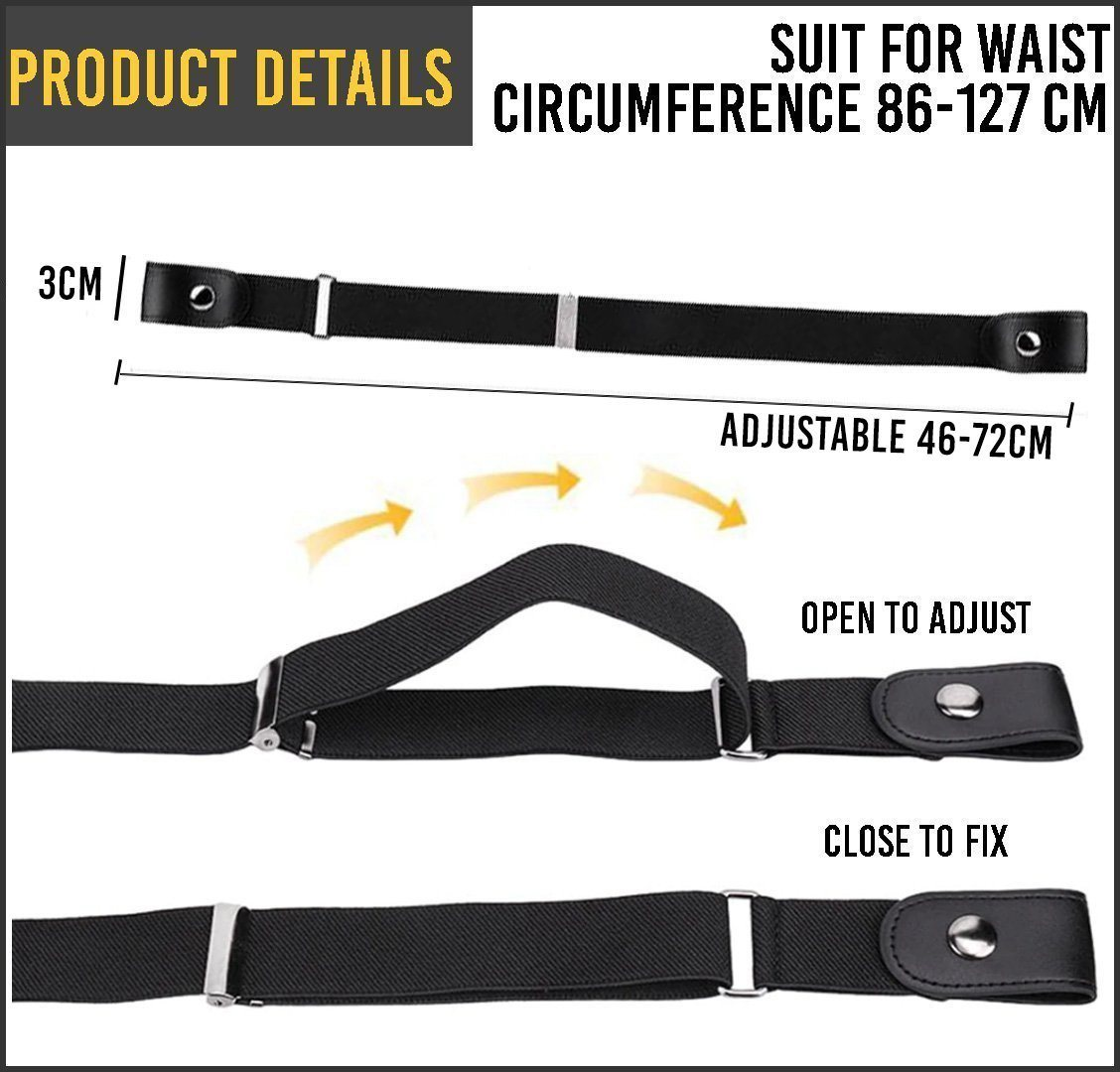 Buckle-Free Adjustable Belt 88mallonline