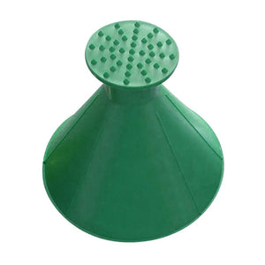 Car Snow Scraper Cone trillionwish GREEN 1PC