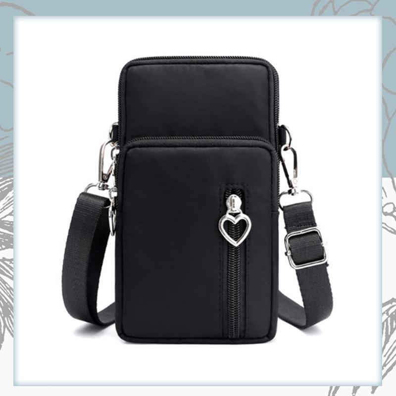 Crossbody Phone Bag trillionwish Black
