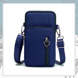Crossbody Phone Bag trillionwish Navy Blue