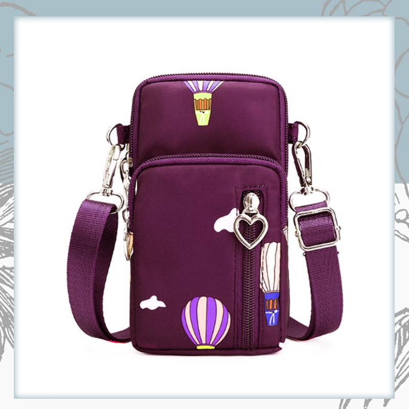 Crossbody Phone Bag trillionwish Purple Balloon