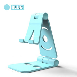Foldable Swivel Phone Stand 88mallonline Blue