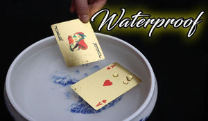 Gold Foil Poker Playing Cards 88mallonline