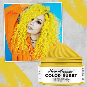 Hair-Poppin™ Color Burst trillionwish YELLOW