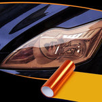 Headlight Taillight Tint Vinyl Film trillionwish Orange