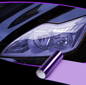 Headlight Taillight Tint Vinyl Film trillionwish Purple