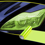 Headlight Taillight Tint Vinyl Film trillionwish Yellow
