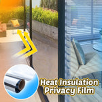 Heat Insulation Privacy Film Lifestyle 88mallonline 40x100 Silver