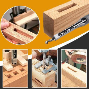 Hollow Chisel Mortise Drill Tool Home trillionwish
