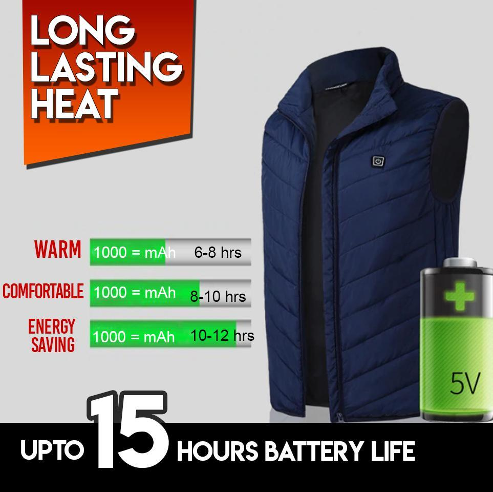 Instant Warmth Heating Vest 88mallonline