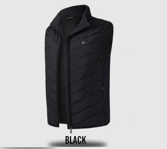Instant Warmth Heating Vest 88mallonline BLACK M