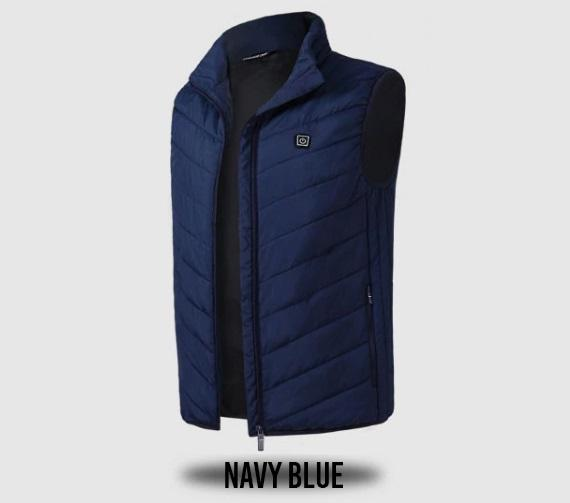 Instant Warmth Heating Vest 88mallonline NAVY BLUE S