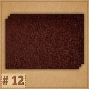 Leather Repair Patch Home trillionwish #12 Dark Brown