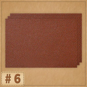 Leather Repair Patch Home trillionwish #6 Coffee