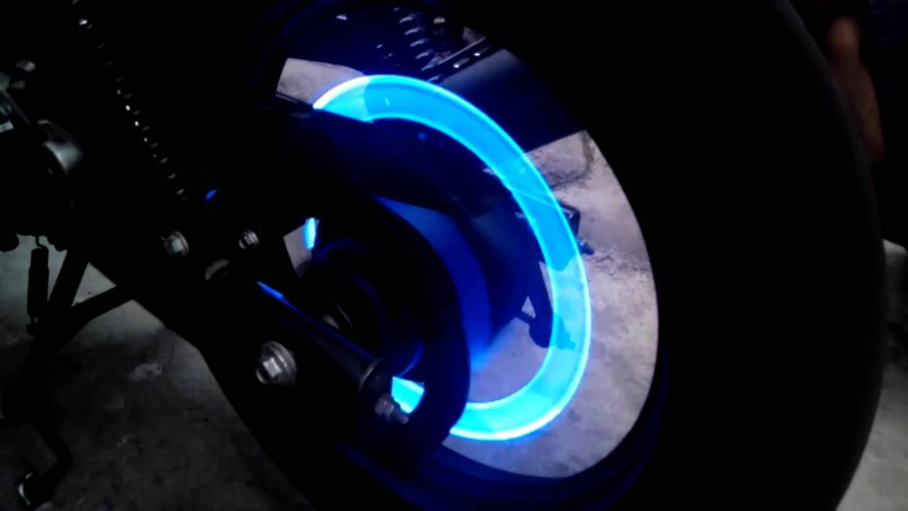 LED Tire Valve Caps Car LuminaBase