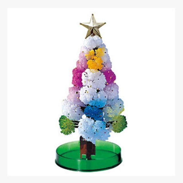 MAGIC CRYSTAL CHRISTMAS TREE choices4today Multi Color Tree
