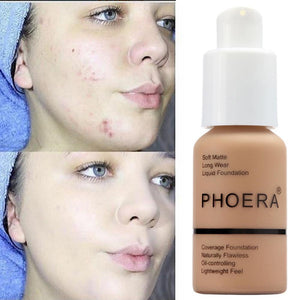 Phoera Flawless Matte Liquid Foundation 88mallonline 105