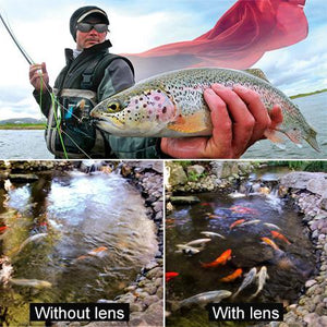 Photochromic Fishing Lens AmberAconite