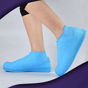 ShieldKicks™ Waterproof Shoe Cover trillionwish S Blue