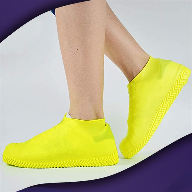 ShieldKicks™ Waterproof Shoe Cover trillionwish S Yellow