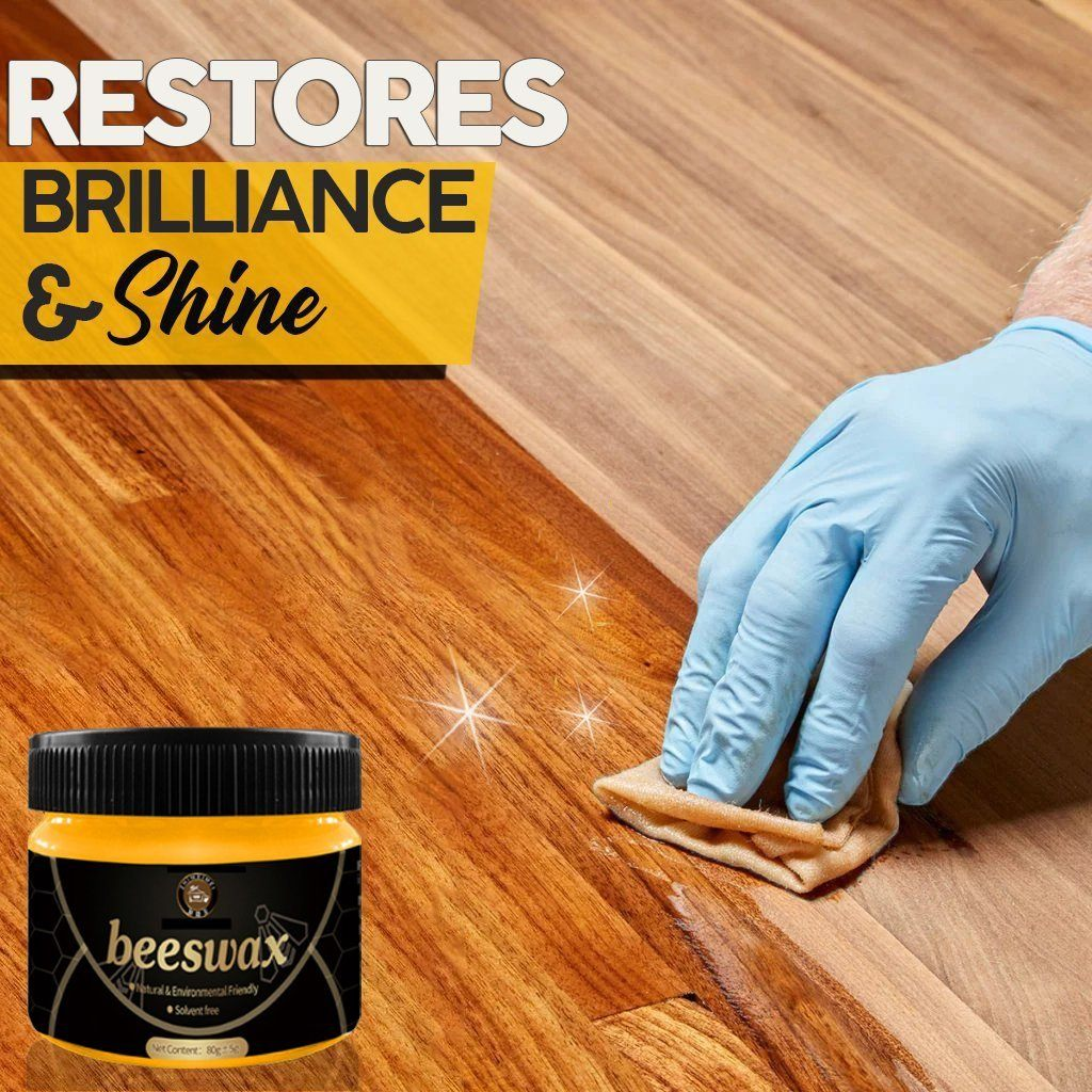 Shiny™ Wood Seasoning Beewax GoodbyeSmile