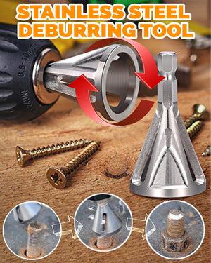 Stainless Steel Deburring Tool Home LuminaBase