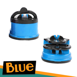 Suction Blade Sharpener Kitchen 88mallonline BLUE