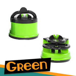 Suction Blade Sharpener Kitchen 88mallonline GREEN