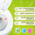 Toilet Flowers Cleaning and Aromatic Gel trillionwish
