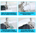 Ultimate Needle Inserter And Threader For Sewing Machines trillionwish