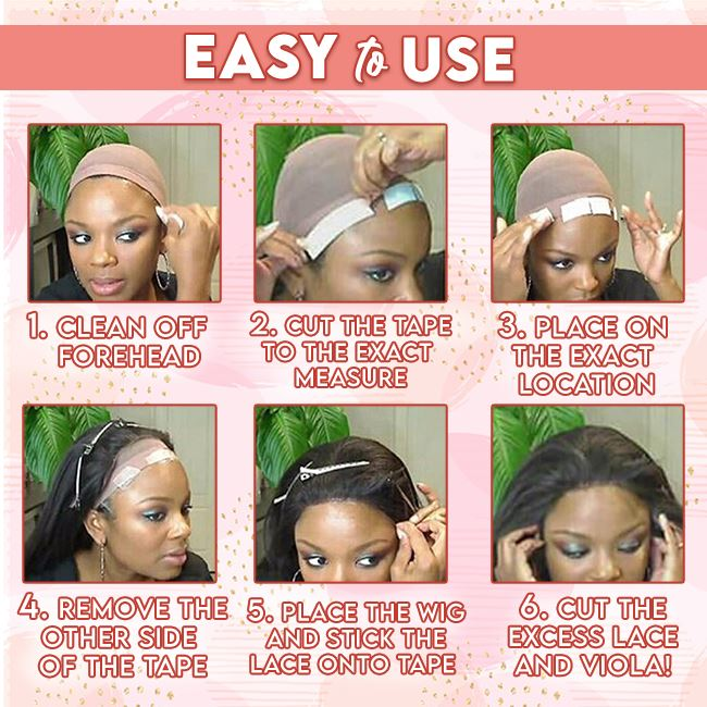 Ultra Hold Wig Tape (36 pcs) trillionwish